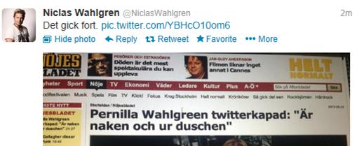 Men... vem fan är Pernilla Wahlgreen?